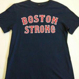 NWOT Boston Strong Men's Medium Shirt Color